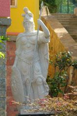Ялтинский зоопарк Сказка. Греческая богиня Афина Паллада
